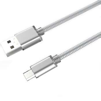 کابل تبدیل USB به microUSB الدینیو مدل LS31 به طول 3 متر
