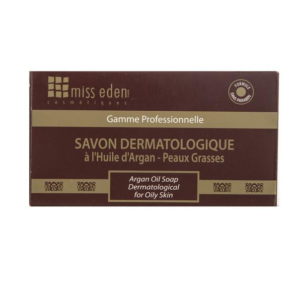 صابون پوست چرب میس ادن مدل Argan Oil Dermatological مقدار 100 گرم
