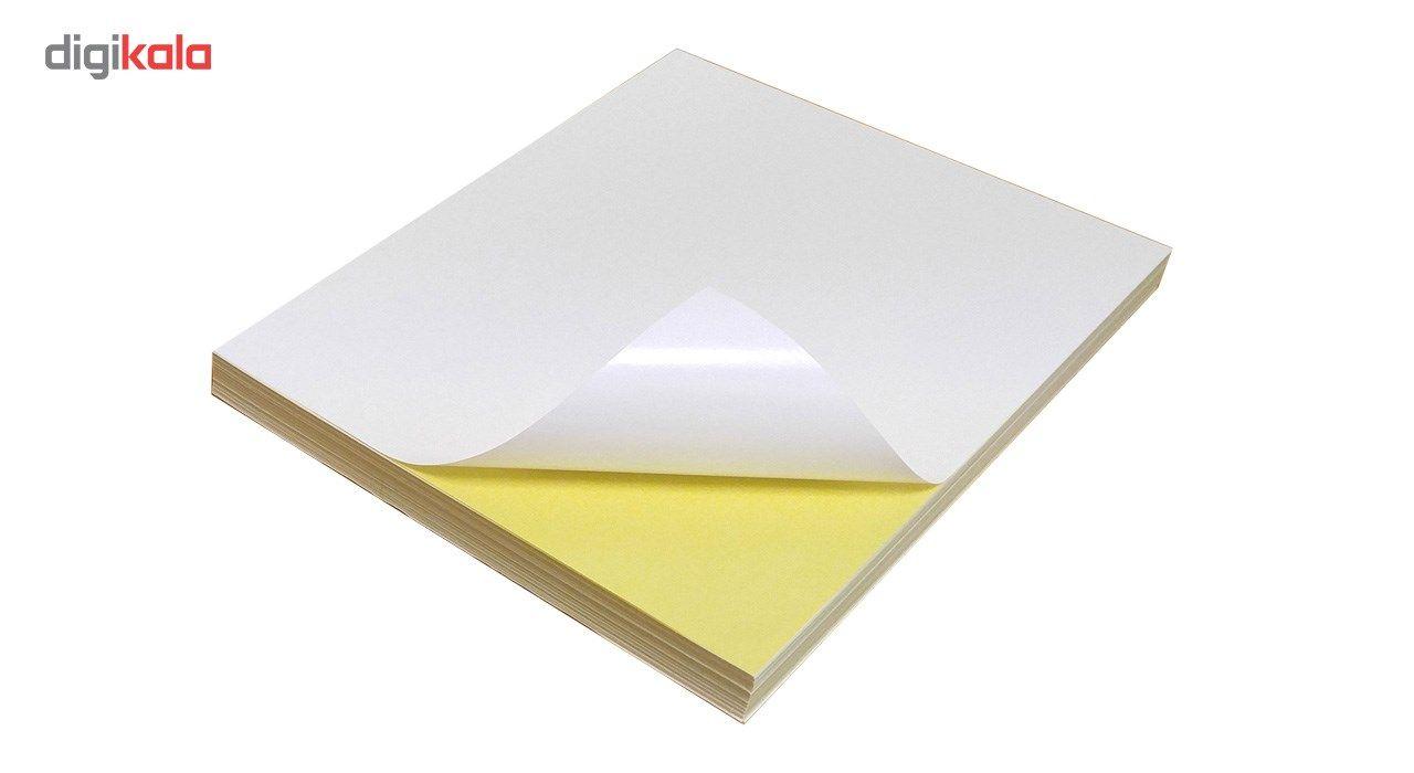کاغذ یادداشت چسب دار سایز A4 بسته 100 عددی main 1 1