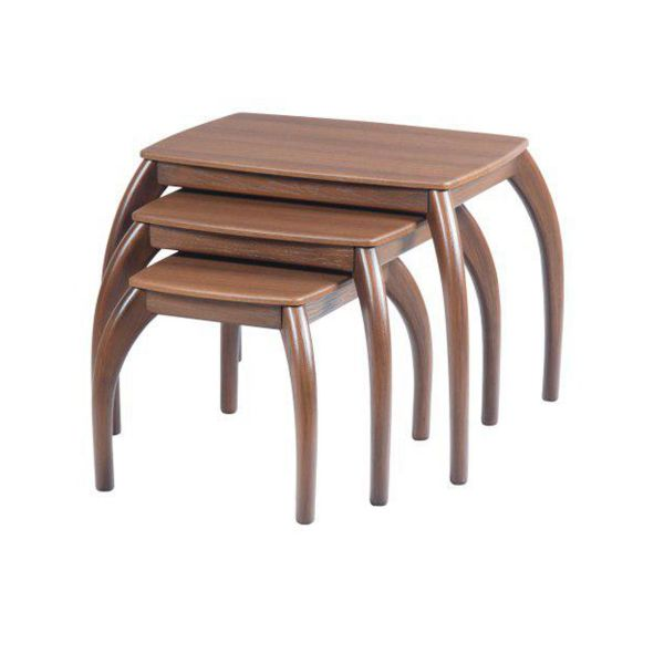 میز عسلی سهیل کد 0059GRT مجموعه سه عددی