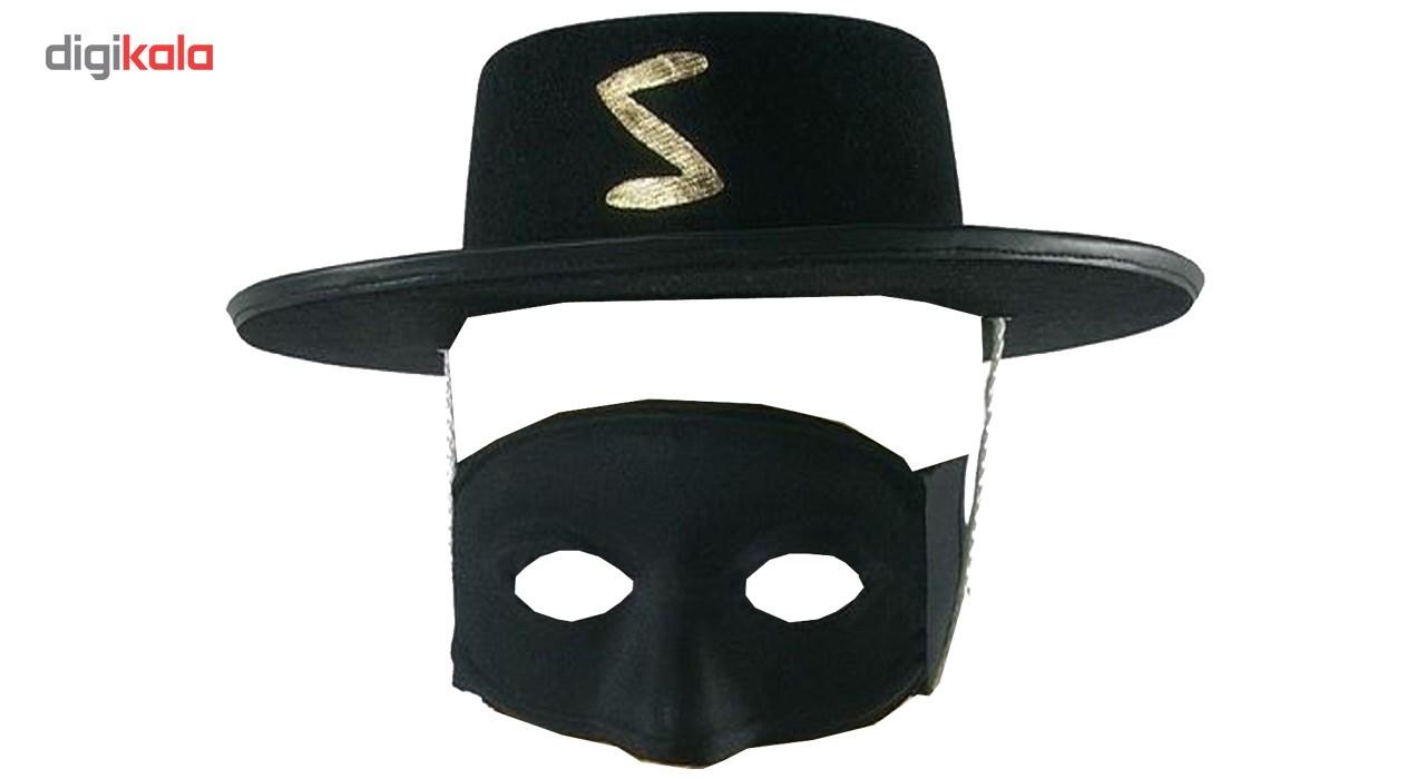 کلاه و نقاب زورومدلzorro سایز XL