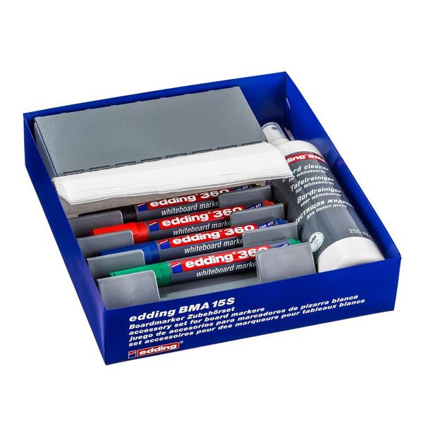 ست پاک کننده  تخته وایت بورد ادینگ مدل BMA 15 S به همراه 4 عدد مازیک