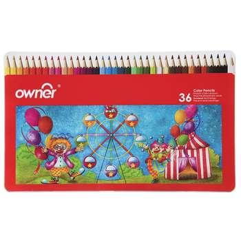 مداد رنگی 36 رنگ اونر کد 141736
