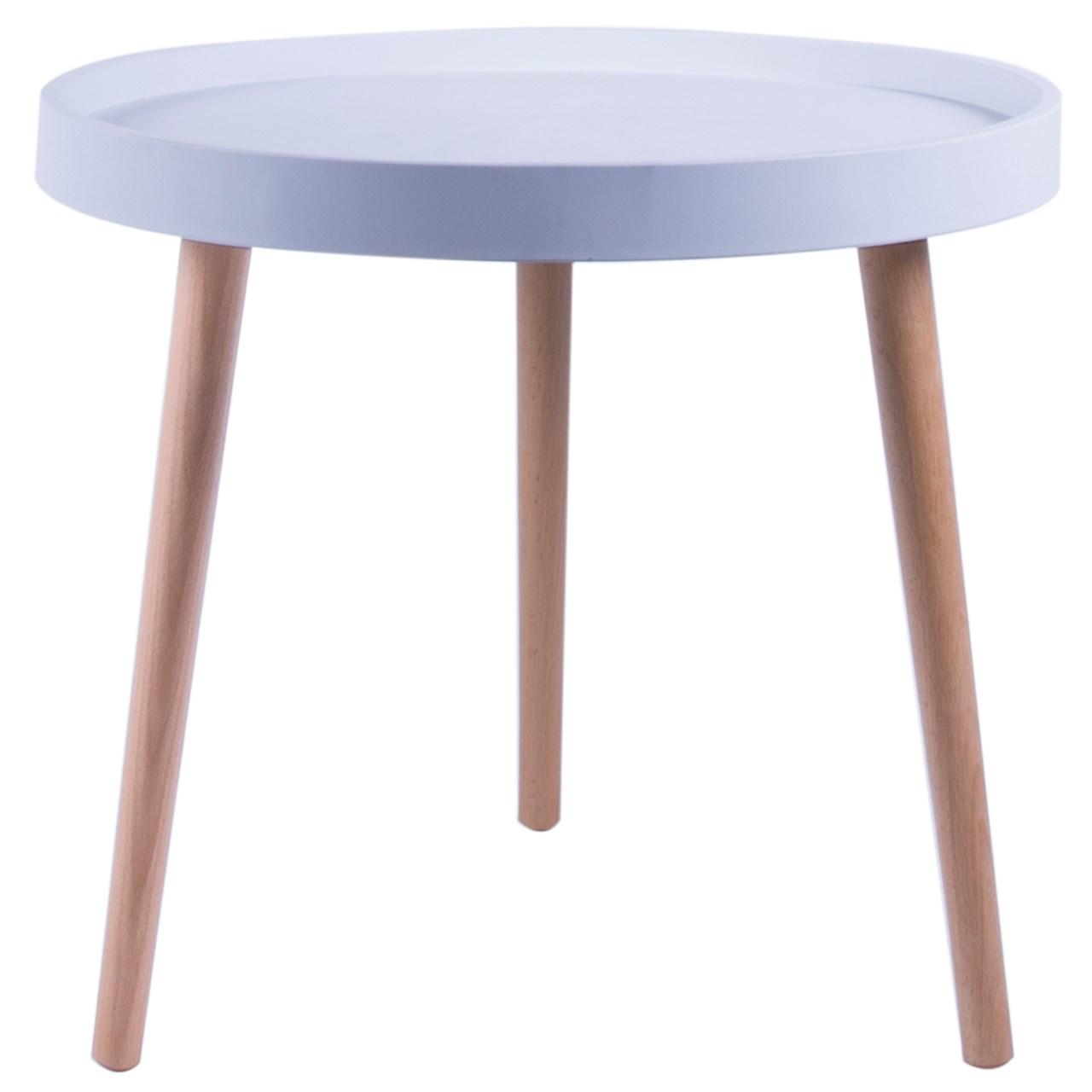 میز عسلی کروماتیک مدل Wood Legs