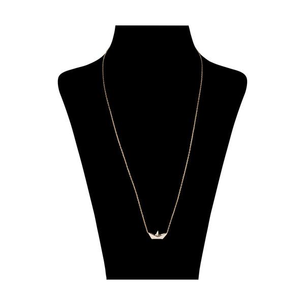 گردنبند طلا 18 عیار زنانه مدیسا مدل N7015
