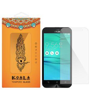 محافظ صفحه نمایش شیشه ای کوالا مدل Tempered مناسب برای گوشی موبایل ایسوس Zenfone Go ZB500KL