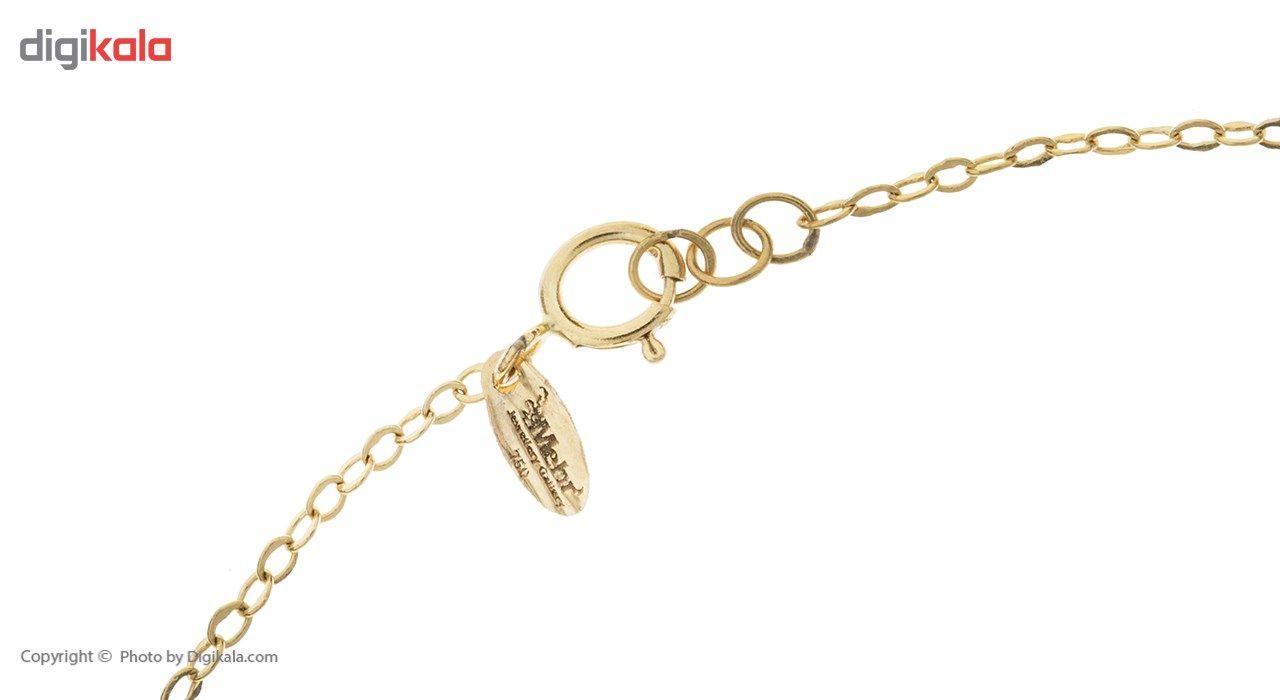 دستبند طلا 18 عیار ماهک مدل MB0256 - مایا ماهک -  - 1