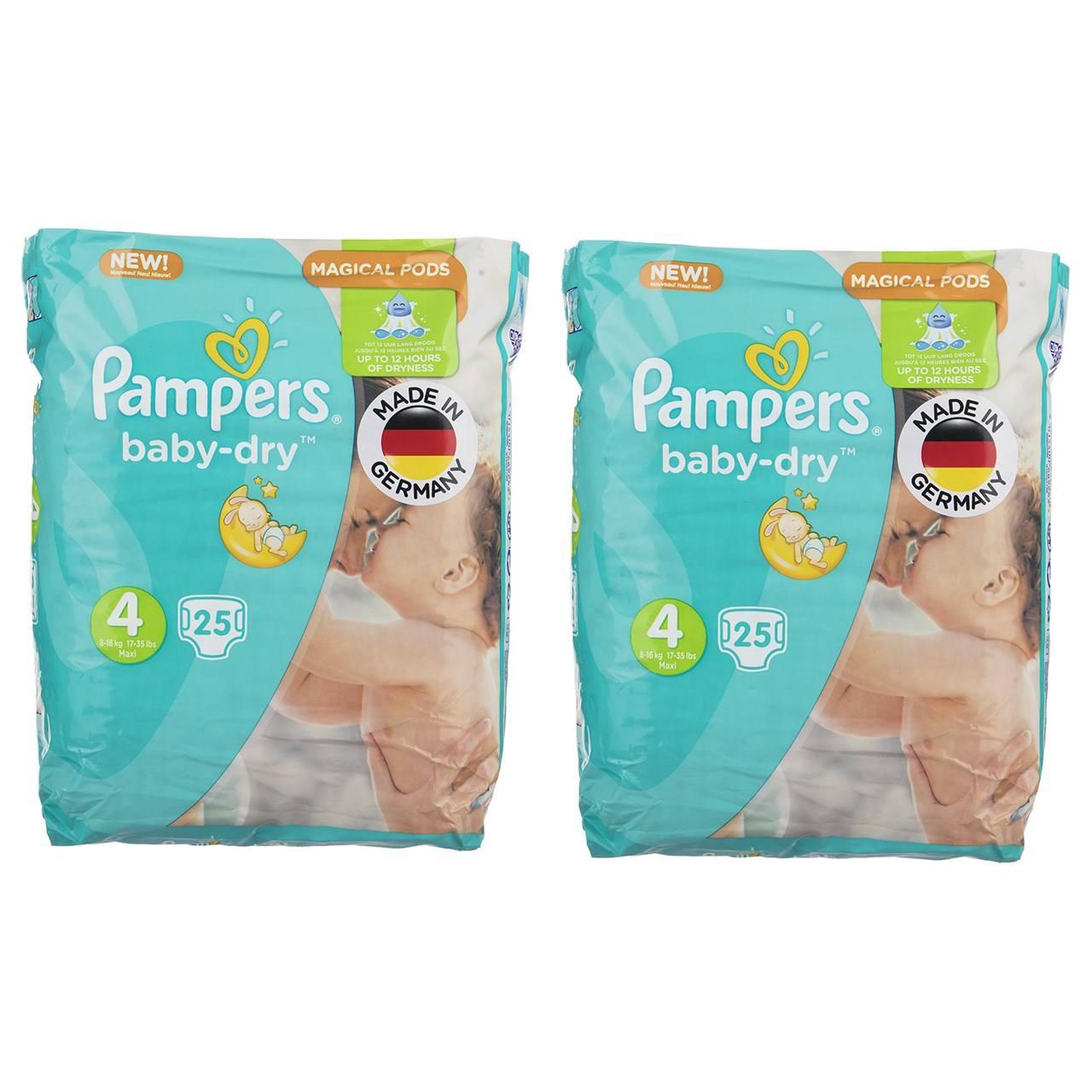 پوشک پمپرز مدل New Baby Dry سایز 4 بسته 25 × 2 عددی main 1 1