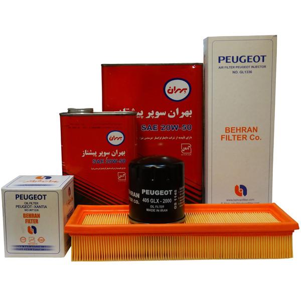 بسته تعویض روغن خودرو مدل HM1336/4 مناسب برای پژو پرشیا