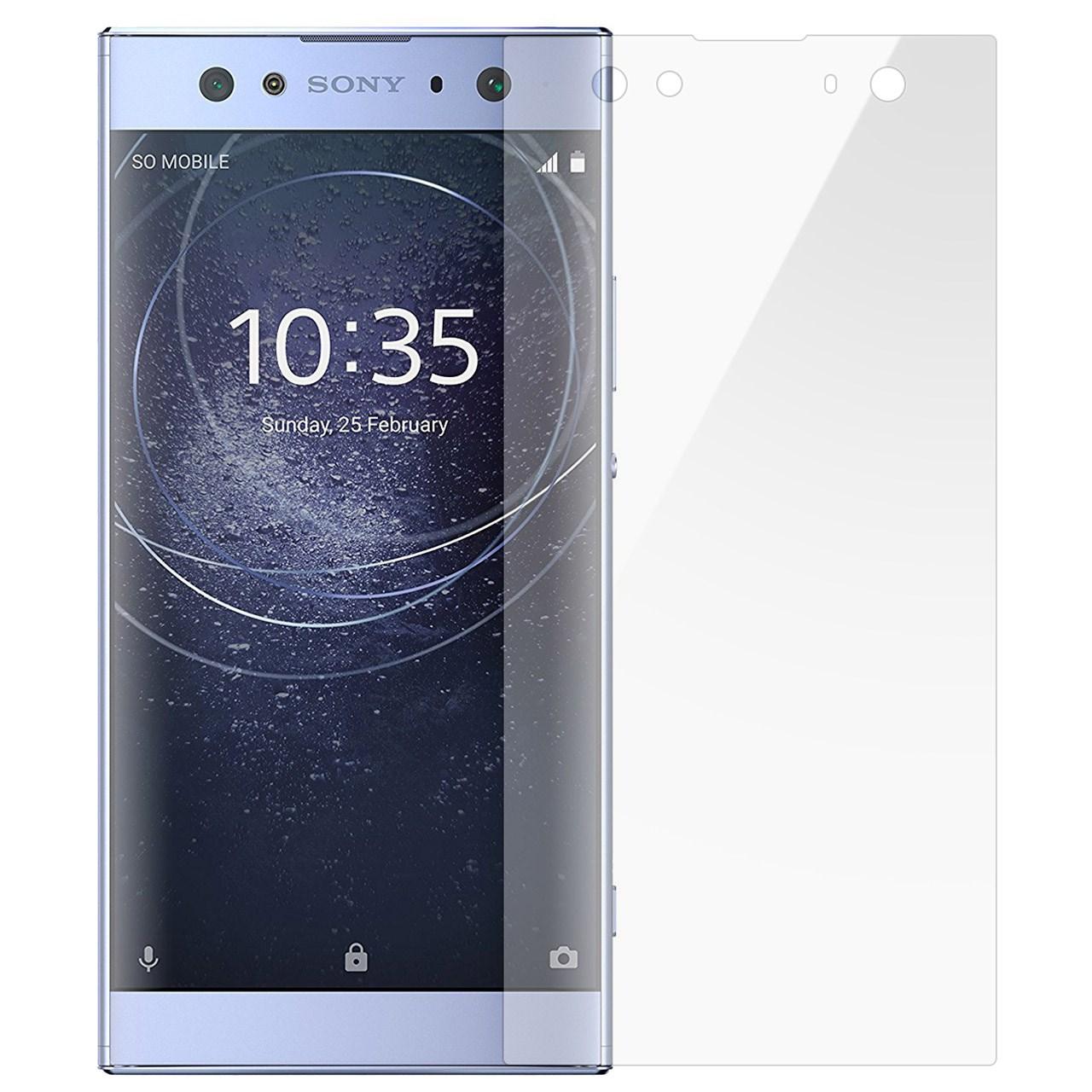 محافظ صفحه نمایش تی پی یو مدل Full Cover مناسب برای گوشی موبایل سونی Xperia XA2 Ultra