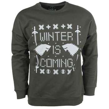 پلیور سبز مردانه سون پی ام مدل Winter Is Coming