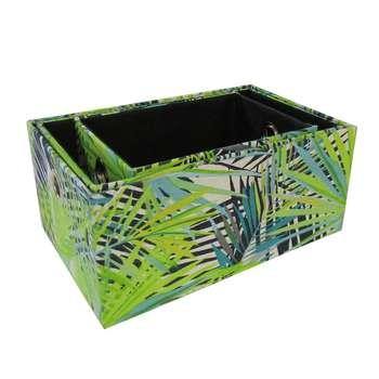 جعبه ارگانایزر هوم اند لایف مدل جوهانا طرح برگ مجموعه 3 عددی