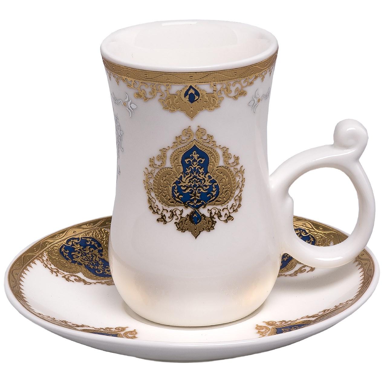 عکس سرویس چای خوری پلاس  12 پارچه مدل 513