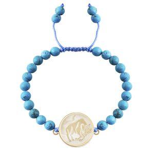 دستبند طلا 18 عیار مرجان مدل 0549