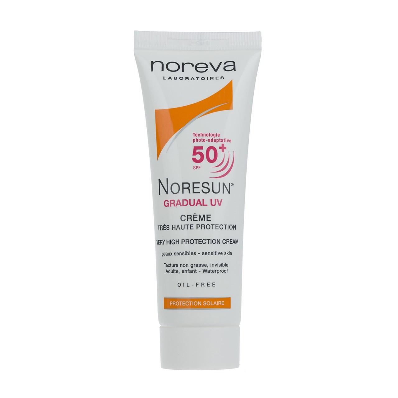 قیمت کرم ضد آفتاب نوروا سری Noresun مدل Gradual UV SPF50 حجم 40 میلی لیتر