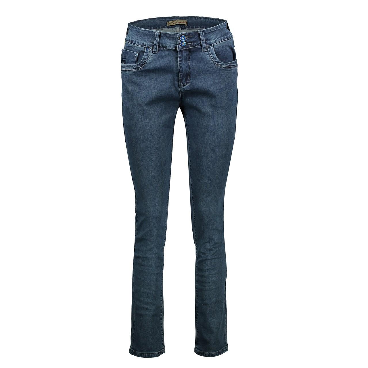 شلوار جین زنانه لاو اسپرت مدل L6628B