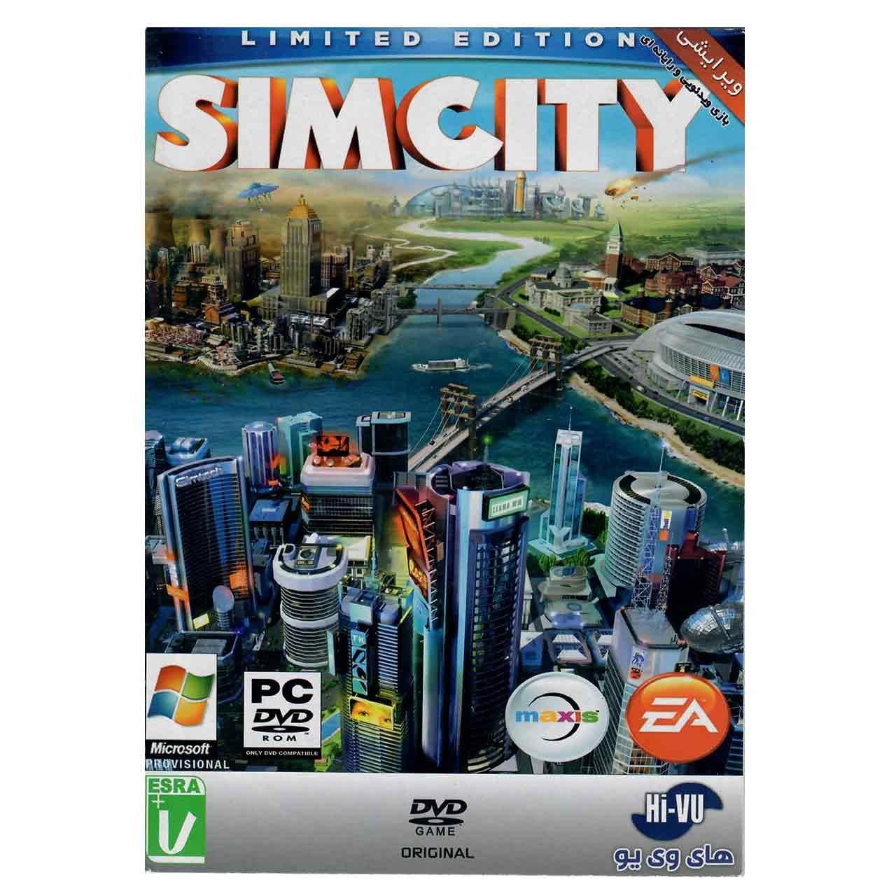 بازی SimCity مخصوص کامپیوتر