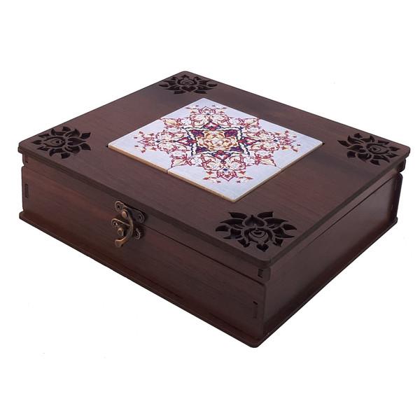 جعبه چای کیسه ای مدل ترنج