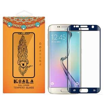محافظ صفحه نمایش شیشه ای کوالا مدل Full Cover مناسب برای گوشی موبایل سامسونگ Galaxy S7 Edge