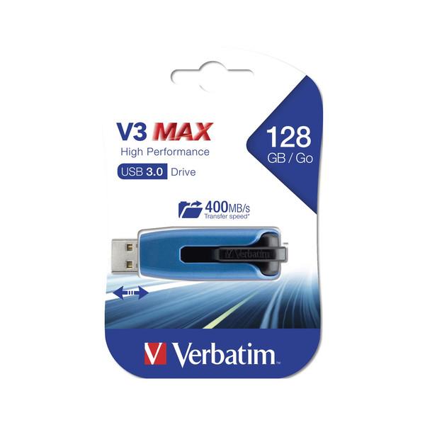 فلش مموری ورباتیم مدل Store n Go V3 Max ظرفیت 128 گیگابایت
