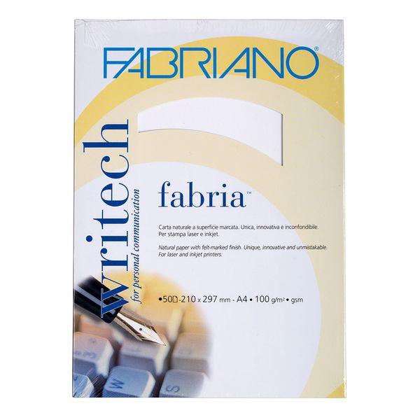 کاغذ فابریانو مدل Fabriano Bianco سایز A4 بسته 50 عددی