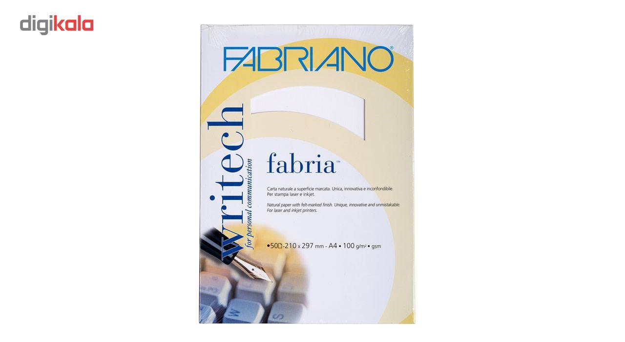 کاغذ فابریانو مدل Fabriano Bianco سایز A4 بسته 50 عددی main 1 1