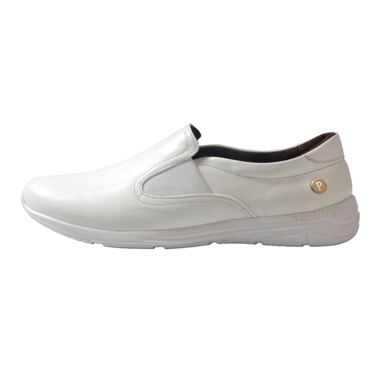 کفش چرم طبی زنانه آریوان مدل ARZ512S