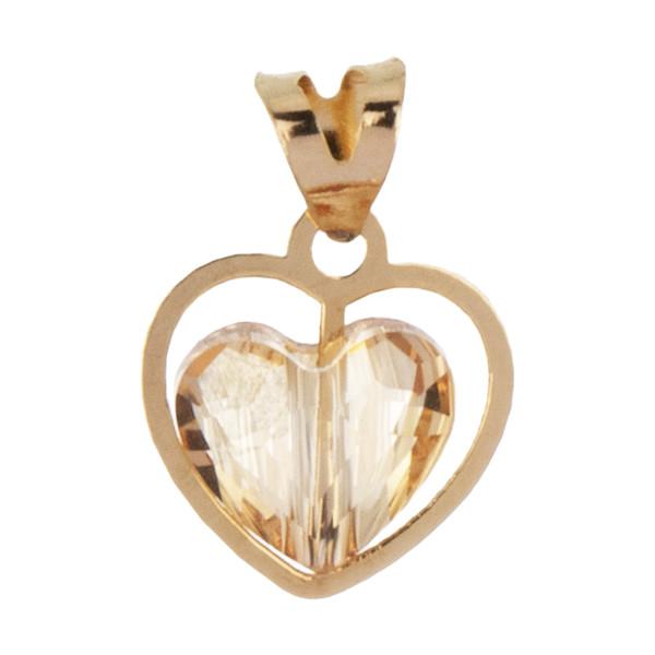 آویز گردنبند طلا 18 عیار زنانه مایا ماهک مدل MM1025