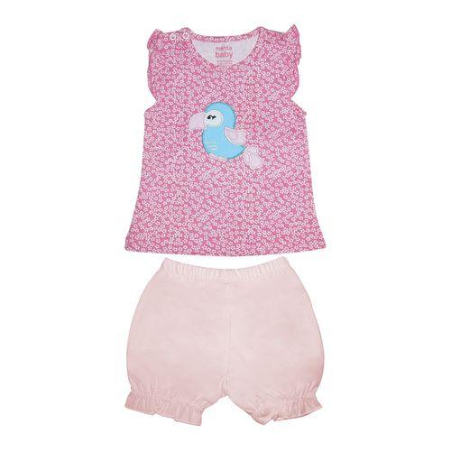 ست لباس نوزادی دخترانه طرح کاسکو