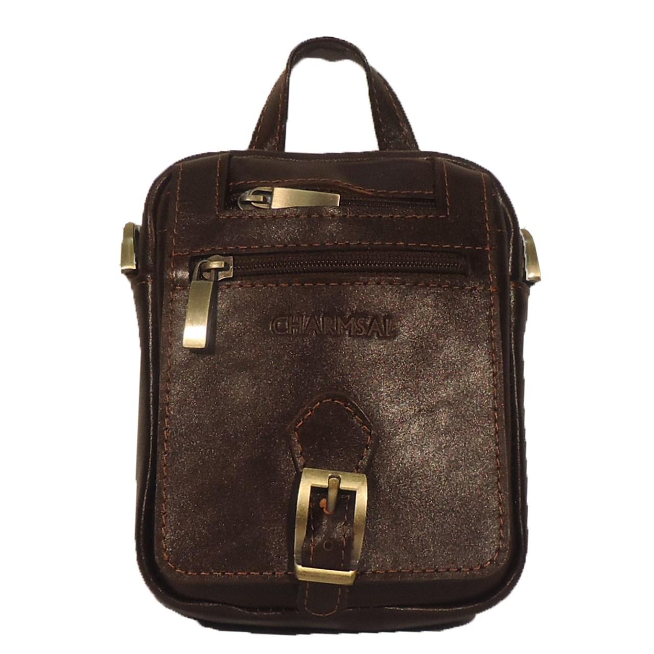 قیمت کیف رو دوشی چرم مردانه سالار مدل E141-S