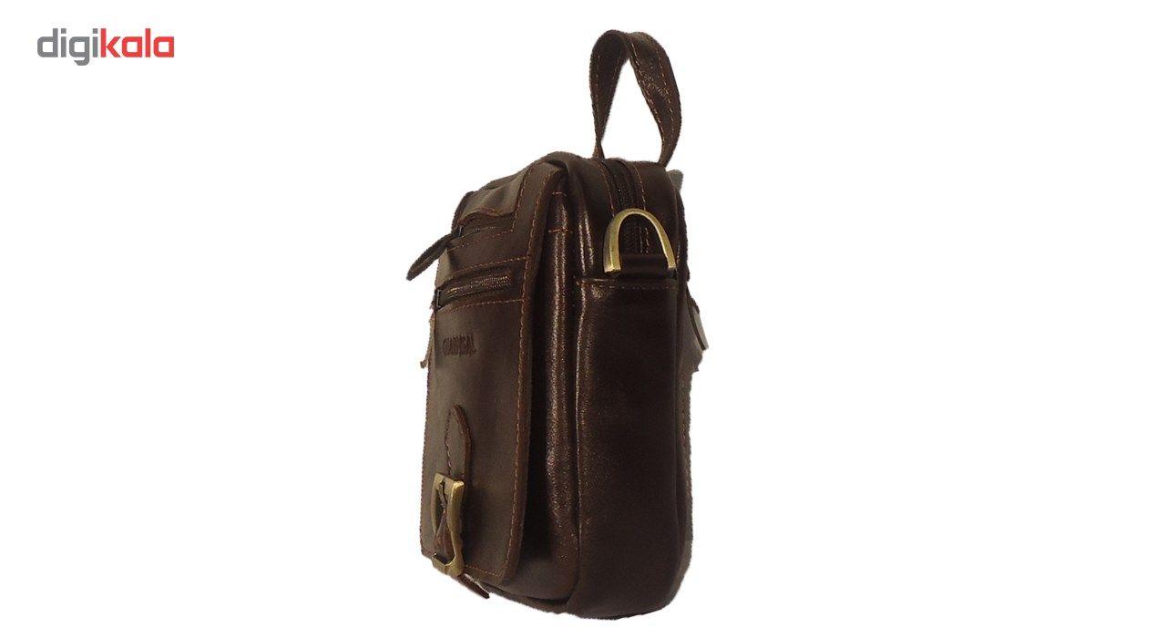 کیف رو دوشی چرم مردانه سالار مدل E141-S main 1 1