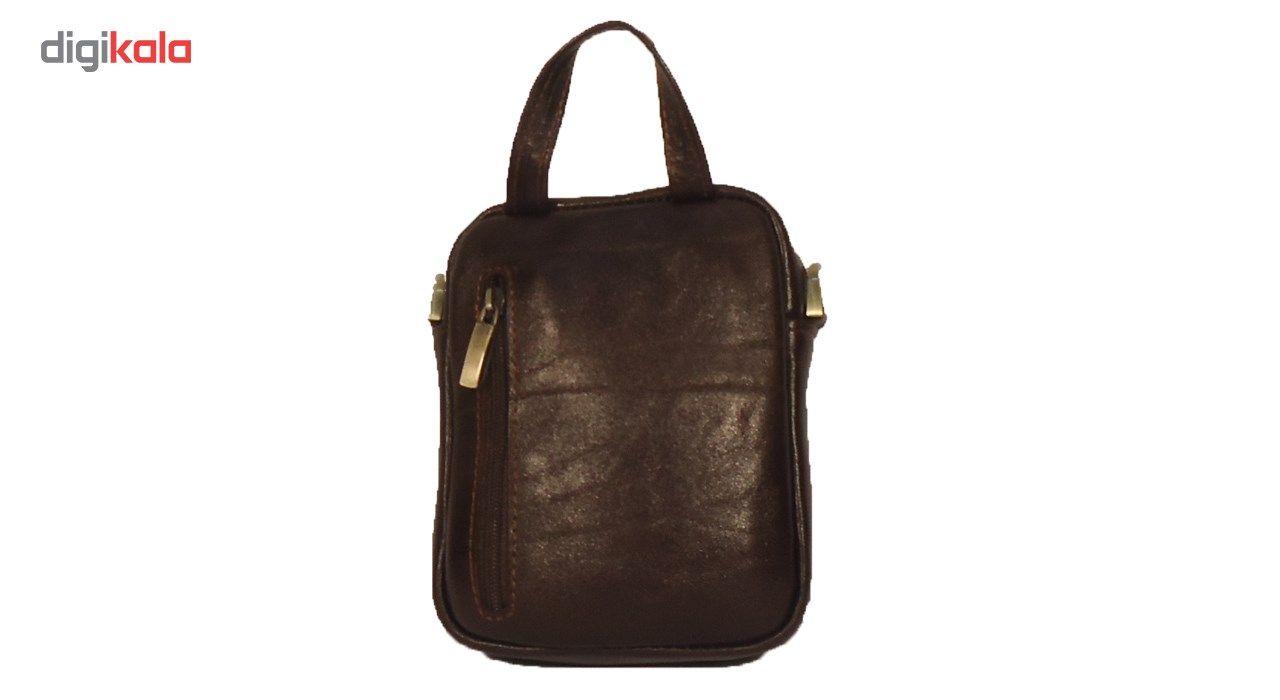 کیف رو دوشی چرم مردانه سالار مدل E141-S main 1 2