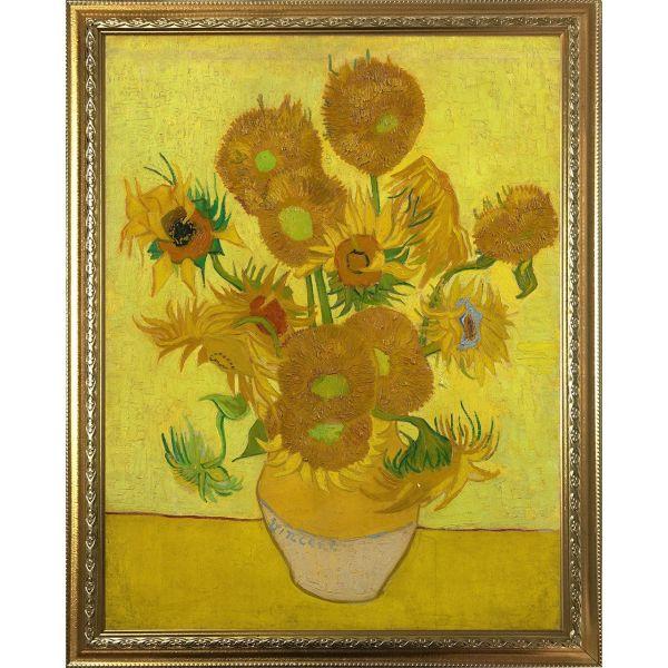 تابلو چاپ سی طرح گل های آفتاب گردان