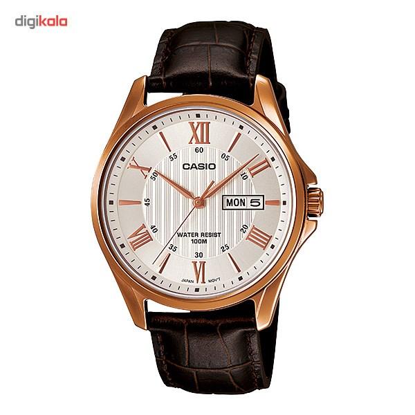 خرید ساعت مچی عقربه ای مردانه کاسیو MTP-1384L-7AVDF | ساعت مچی