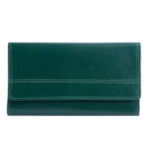 کیف پول زنانه رویال چرم کدW13-Green