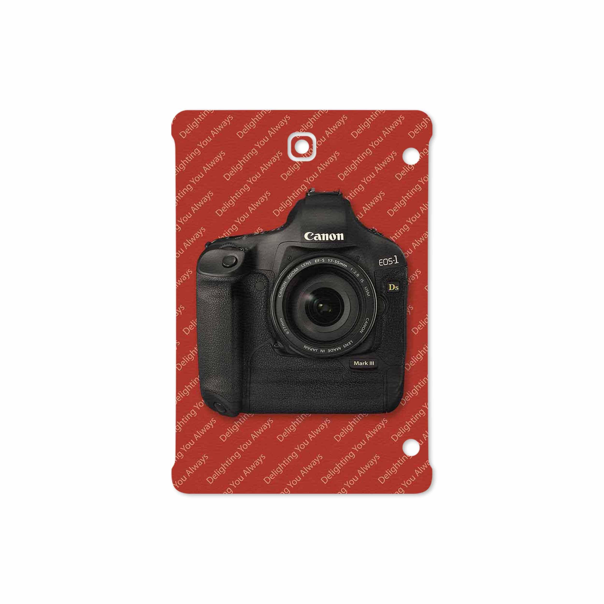 بررسی و خرید [با تخفیف]                                     برچسب پوششی ماهوت مدل Canon-Logo مناسب برای تبلت سامسونگ Galaxy Tab S2 8.0 2016 T719N                             اورجینال