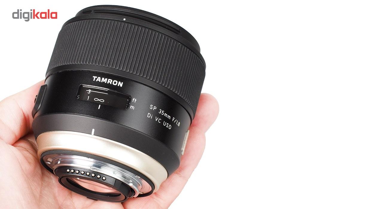 لنز تامرون مدل SP 35mm F/1.8 Di VC USD مناسب برای دوربینهای نیکون