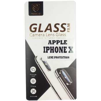 محافظ لنز دوربین مدل تمپرد مناسب برای گوشی موبایل اپل آیفون X/10