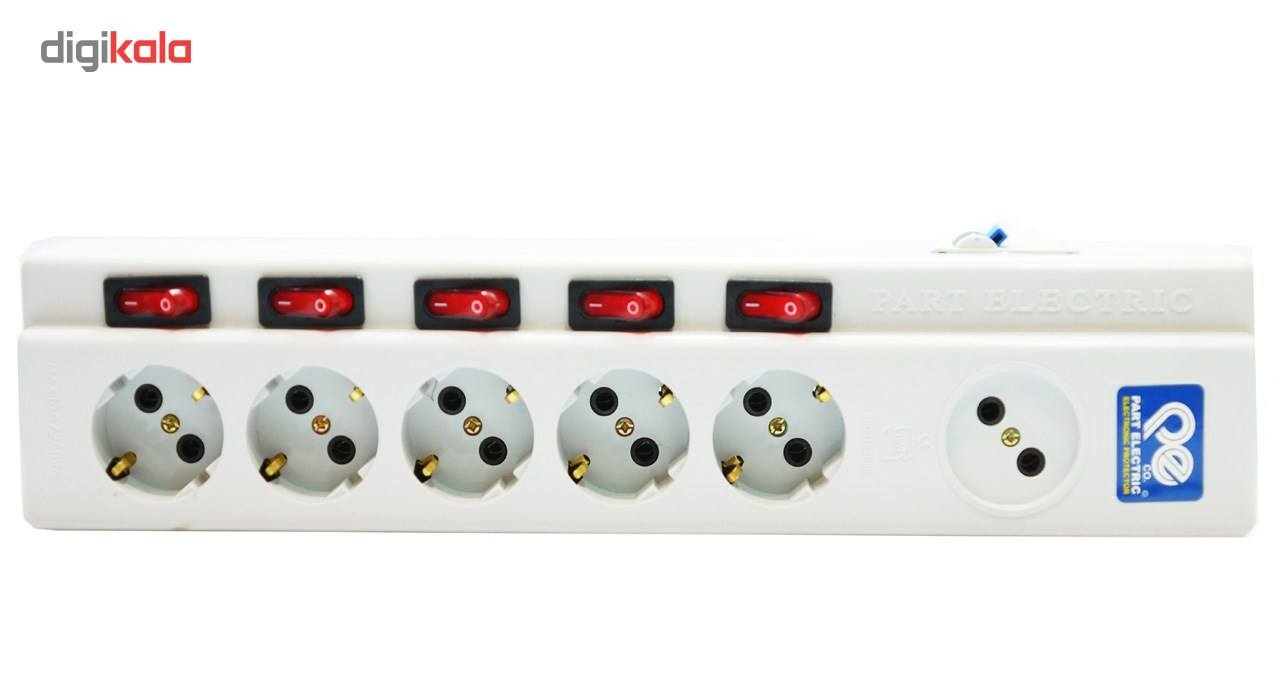 چند راهی برق پارت الکتریک مدل F-0644 main 1 1