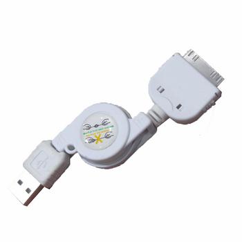 کابل تبدیل USB به 30-پین مناسب برای آیفون 4/4s به طول 0.75 متر