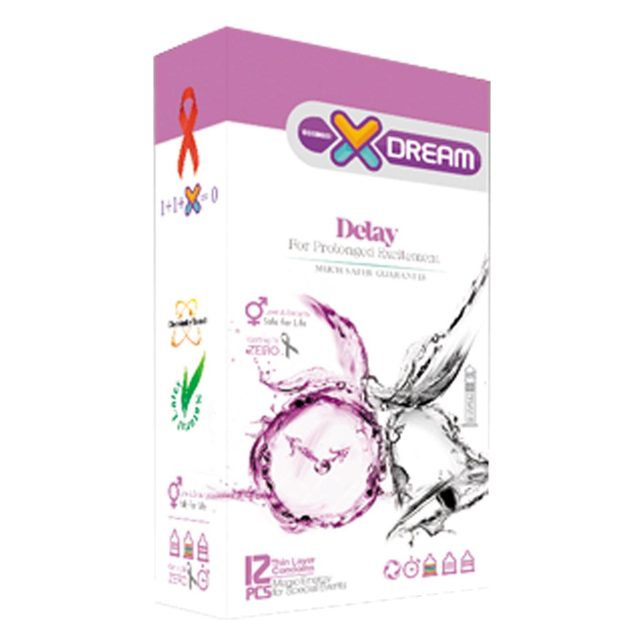 قیمت کاندوم ایکس دریم مدل Delay بسته 12 عددی