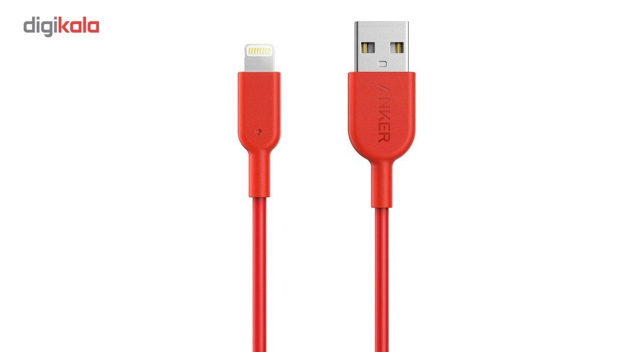 کابل تبدیل USB به لایتنینگ انکر مدل A8432 طول 0.9 متر main 1 1
