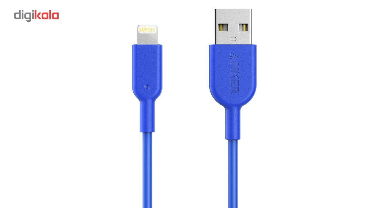 کابل تبدیل USB به لایتنینگ انکر مدل A8432 طول 0.9 متر main 1 4