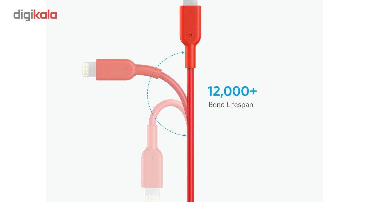 کابل تبدیل USB به لایتنینگ انکر مدل A8432 طول 0.9 متر main 1 8
