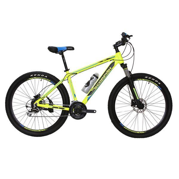 دوچرخه کوهستان اسکورپیون مدل Rs270 Ys793 Matt Yellow سایز 27.5