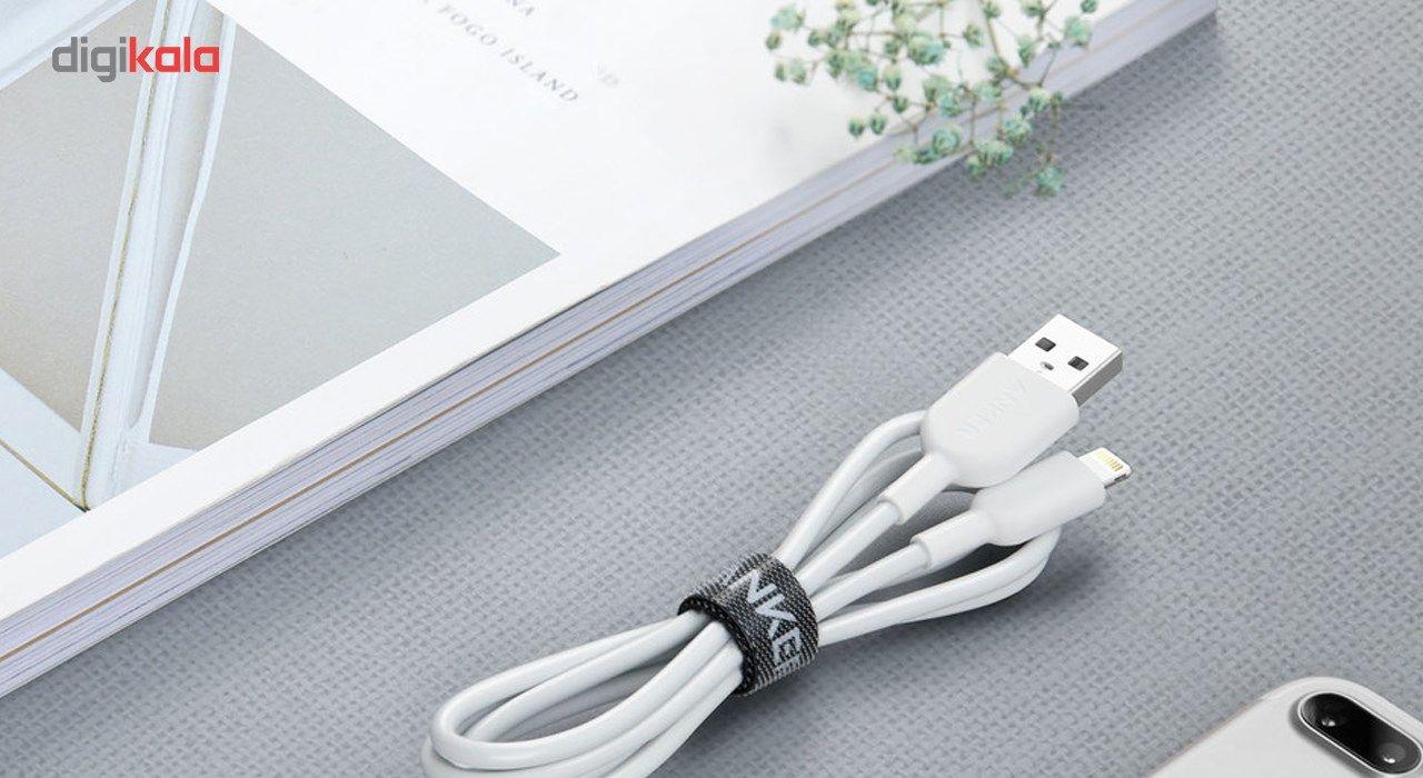 کابل تبدیل USB به لایتنینگ انکر مدل A8432 طول 0.9 متر main 1 12
