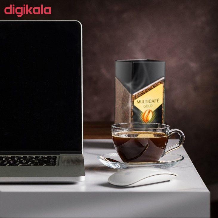 قهوه فوری گلد مولتی کافه - 100 گرم main 1 2