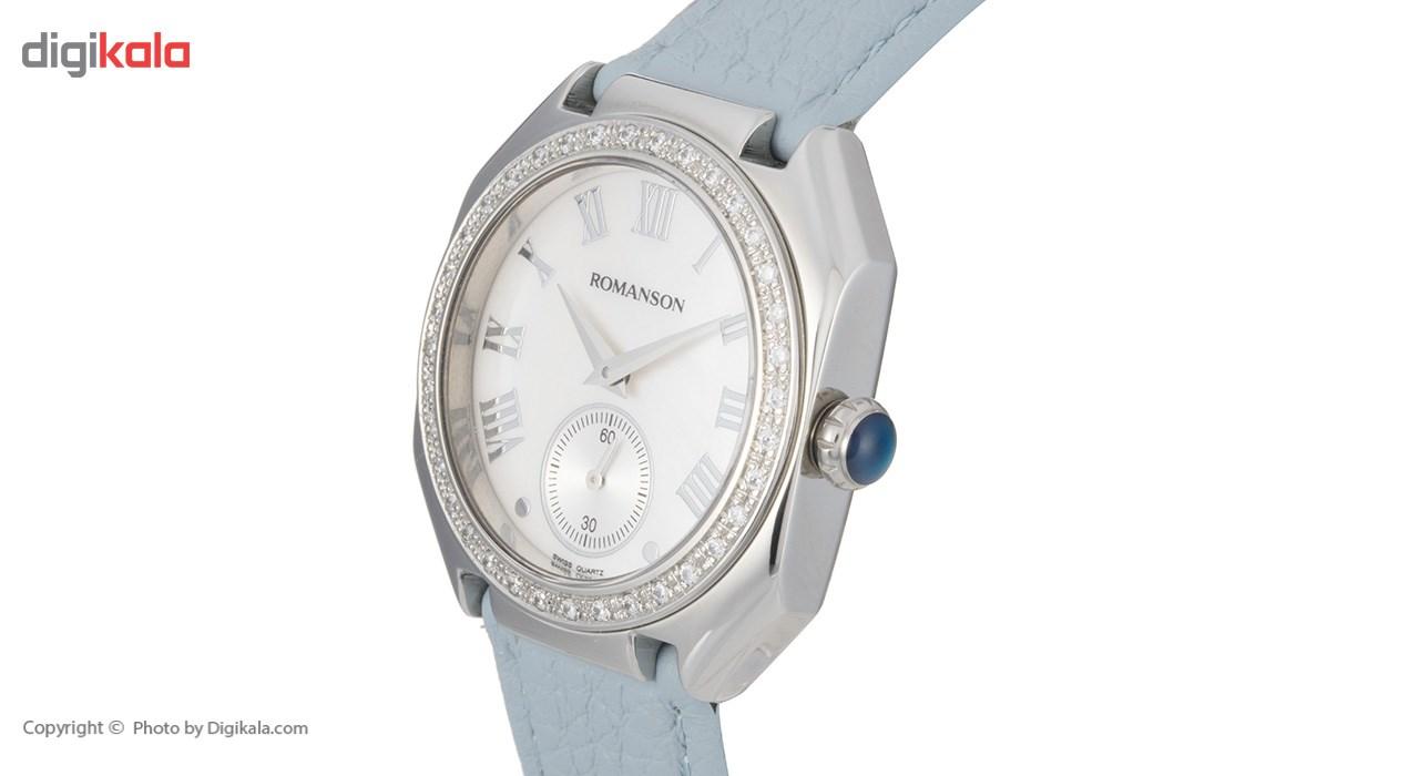 ساعت مچی عقربه ای زنانه رومانسون مدل RL1208QL3WM12W