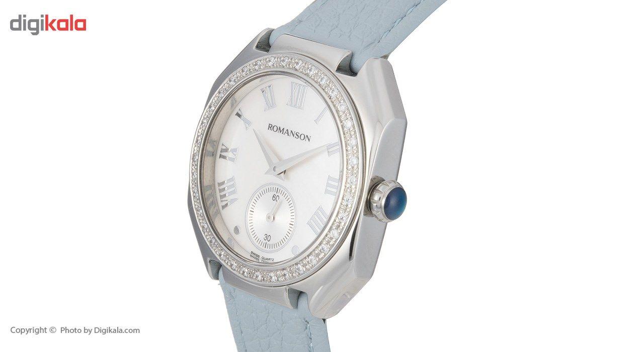 ساعت مچی عقربه ای زنانه رومانسون مدل RL1208QL3WM12W -  - 4