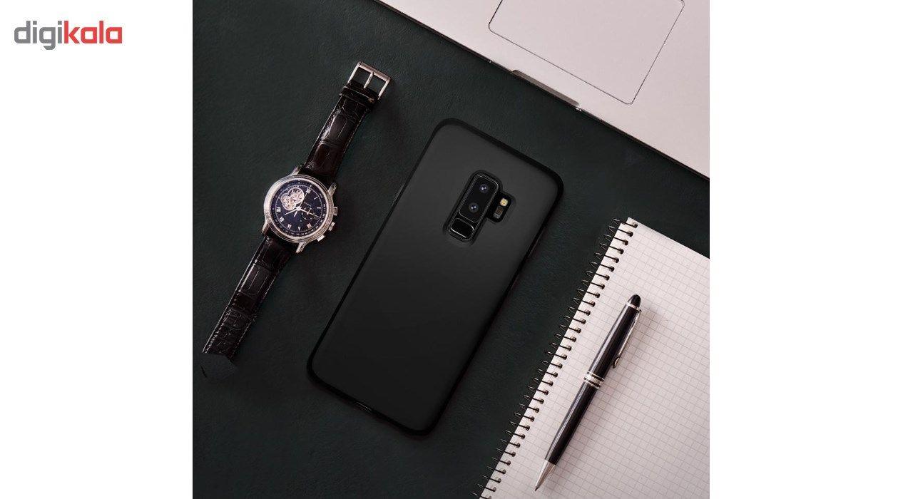 کاور اسپیگن مدل Case Liquid Crystal مناسب برای گوشی موبایل سامسونگ Galaxy S9 Plus